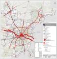 Vilniaus apskrities bendrasis planas / Urbanistinis karkasas